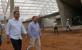 [Rui visita obras do Hospital Prado Valadares, com investimento de R$ 27 milhões]