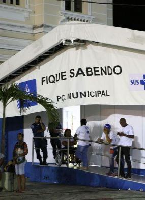 Dois postos de detecção de DSTs atendem no Carnaval de Salvador