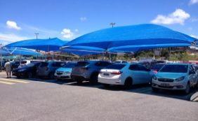 [Flagra: Motoristas estacionam em vagas de idosos em supermercado da RMS]