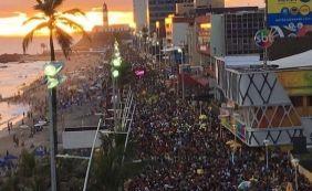['Nenhuma ocorrência grave foi registrada no Pré-Carnaval de Salvador', diz PM]