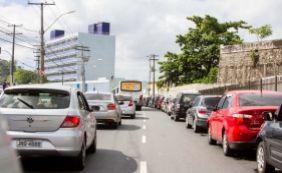 [Salvador: motorista espera até uma hora para embarcar no ferryboat]