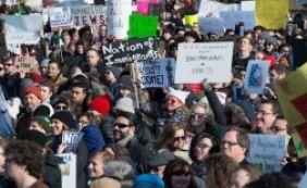 [Marchas anti-Trump marcam feriado nacional nos EUA: 'Not my President Day']