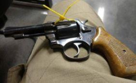 [Suspeitos são detidos durante ação da PRF e PC com arma de fogo e munições]