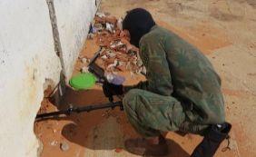 [Marinha encontra armas brancas e celulares durante vistoria em Alcaçuz]