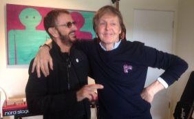 [Paul McCartney e Ringo Starr se reúnem para gravação após sete anos]