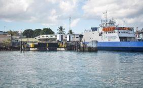 [Ferry inicia nesta quarta escala de 24 horas para o Carnaval]