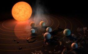 [Nasa descobre sistema solar com 7 planetas similares a Terra]