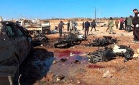 [Atentado com carro-bomba mata pelo menos 42 pessoas na Síria]