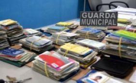 [Mais de 360 documentos perdidos foram recolhidos pela Guarda Muncipal]
