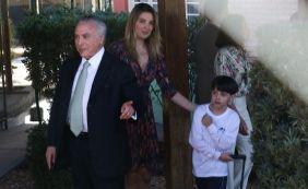[Michel Temer e família voltam a Brasília após carnaval na Base Naval de Aratu]