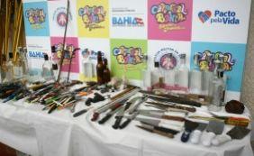 [Polícia aborda mais de um milhão no carnaval; 1.053 objetos foram apreendidos]