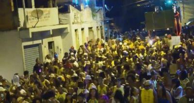 Arrastão de carnaval no Nordeste de Amaralina é impedido pela PM