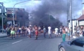 [Protesto causa longo congestionamento na Av. Suburbana; confira o trânsito ]
