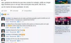 [Após assalto, ladrão pede desculpa pelo Facebook da vítima: