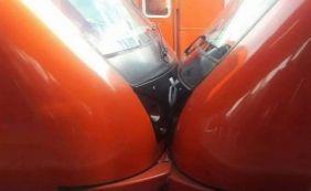 [Trens colidem e deixam ao menos quatro feridos em São Paulo ]