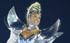 [Desapontada, Xuxa diz que câmeras da Globo não a filmaram na Grande Rio]