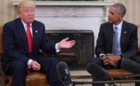 [Trump acusa Obama de ter 'grampeado' seus telefones na campanha eleitoral]