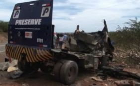 [Bandidos explodem carro-forte em Casa Nova, no interior da Bahia]