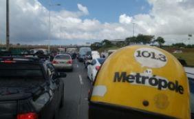 [Motoristas enfrentam lentidão nas principais vias nesta terça; veja o trânsito]
