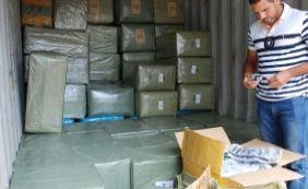 [Carga de 7 toneladas de relógios e tênis é apreendida no Porto de Salvador]