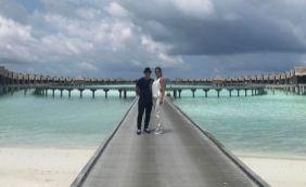 [Só love! Wesley Safadão curte lua de mel com esposa nas Ilhas Maldivas]