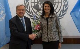 [Secretário-geral da ONU posta vídeo em defesa do empoderamento feminino]