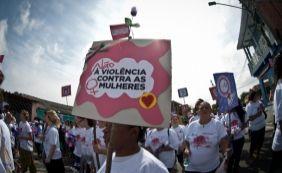 [Mais de 500 mulheres são agredidas por hora no país, indica Datafolha ]