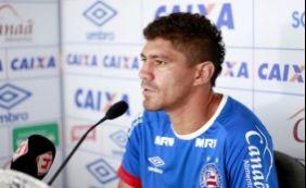 [Volante do Bahia rebate jogador do Paraná: 'Não é titular em lugar nenhum']