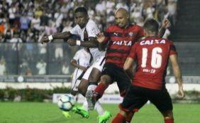 [Com um a menos, Vitória cede empate no fim com o Vasco na Copa do Brasil]
