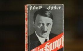 [Com venda proibida, exemplares do livro 'Mein Kampf', de Hitler, são apreendidos]