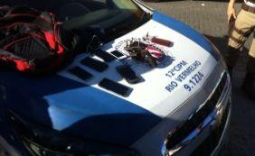 [Homem é preso em flagrante após assaltar ônibus no Rio Vermelho]