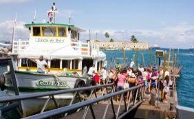 [Parada por maré baixa, travessia Salvador-Mar Grande retoma atividades às 11h15]