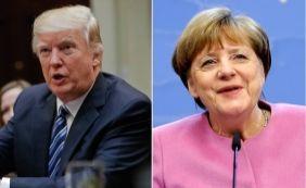 [Depois de telefonema de Trump, Merkel adia viagem a Washington]