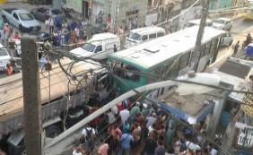 [Acidente entre ônibus, caminhão e 3 carros deixa vítima fatal em Fazenda Grande]