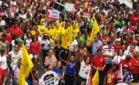 [Ato contra reforma da Previdência leva 50 mil pessoas às ruas do Campo Grande]