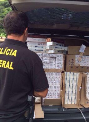 PF deflagra operação para combater o contrabando de cigarros na Bahia