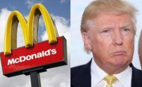 [McDonald's critica Trump no Twitter: 'Presidente nojento e de mãos pequenas']