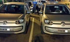 [Homem flagra 'clone' do próprio carro em estacionamento de supermercado]