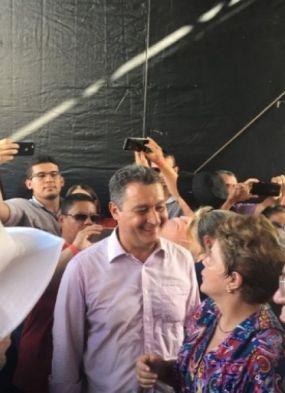 Rui participa ao lado de Lula e Dilma de inauguração simbólica da transposição