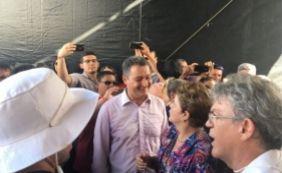 [Rui participa ao lado de Lula e Dilma de inauguração simbólica da transposição]