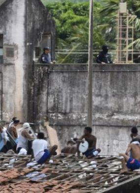 Transferência de presos é iniciada em Alcaçuz, no Rio Grande do Norte
