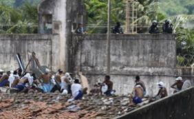 [Transferência de presos é iniciada em Alcaçuz, no Rio Grande do Norte ]