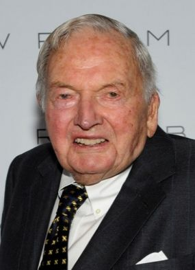 Morre aos 101 anos David Rockefeller, multimilionário americano