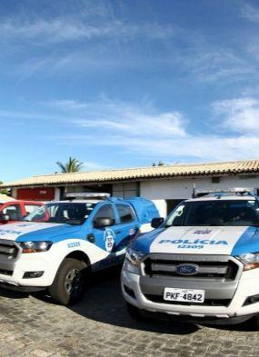 Porto Seguro: governador anuncia construção de fórum e entrega viaturas