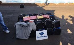 [Bolsas com 560 kg de cocaína são apreendidas no Porto de Salvador]