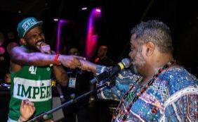 [Filho de Arlindo Cruz substitui pai em shows para cumprir agenda do cantor]