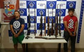 [Irecê: nove armas apreendidas podem ter sido utilizadas em ataque a banco]