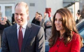 [Mais um! Kate Middleton está grávida do 3º filho do príncipe William, diz site]
