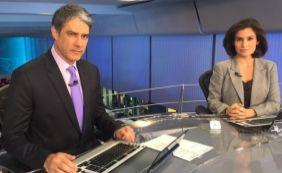 [Bonner imita Silvio Santos nos bastidores do Jornal Nacional; veja vídeo]