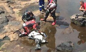 [Motociclista morre após ao cair de ponte em Nazaré das Farinhas]
